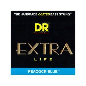 """画像1: DR Extra Life """"PEACOCK BLUE"""" 5-Strings Electric Bass"""