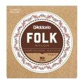 D'Addario Folk Nylon [ボールエンド弦] [ナイロン弦]