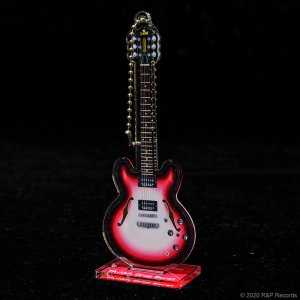 画像1: 大橋隆志 TJO ギター・コレクション アクリルスタンド&キーチェーン TA-JAIL Drop Burst