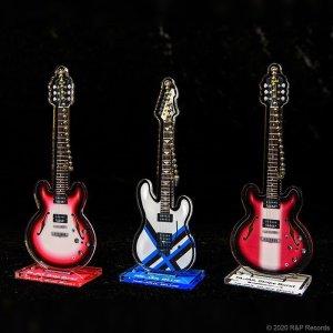 画像4: 大橋隆志 TJO ギター・コレクション アクリルスタンド&キーチェーン TA-JAIL Drop Burst