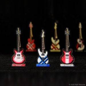 画像5: 大橋隆志 TJO ギター・コレクション アクリルスタンド&キーチェーン TA-JAIL Drop Burst