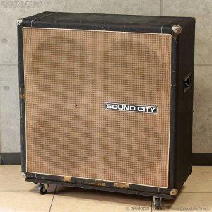 """画像1: Sound City 1972 L90F L110/S 4×12"""" スピーカーキャビネット #21XX [中古品]"""