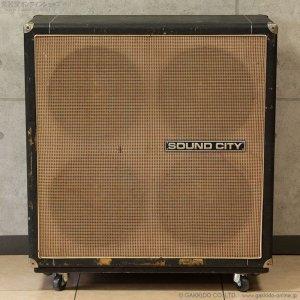 """画像2: Sound City 1972 L90F L110/S 4×12"""" スピーカーキャビネット #21XX [中古品]"""