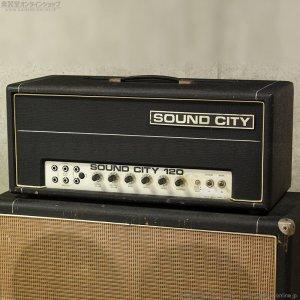 画像1: Sound City 1974 B120 Mk4 ベースアンプ ヘッド #11XX [中古品]