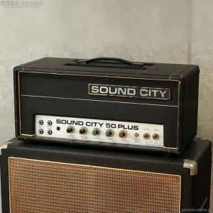 画像1: Sound City 1972 B50 Plus Mk4 ベースアンプ ヘッド #12XX [中古品]