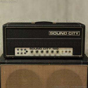 画像2: Sound City 1974 B120 Mk4 ベースアンプ ヘッド #11XX [中古品]