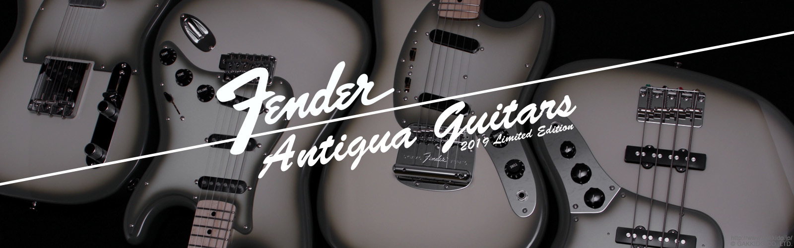Fender Limited Edition Made in Japan Antigua Guitars and Basses