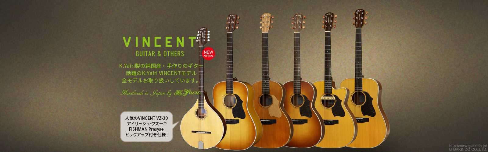 VINCENT Guitar&Others