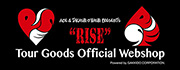 """RISE"" Tour Goods Official Webshop"