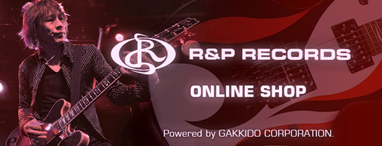 大橋隆志 R&P RECORDS Online Shop Powered by Gakkido Co.,Ltd.