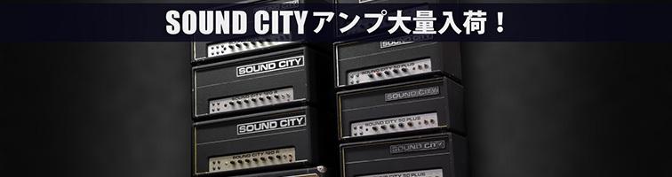 SOUND CITY アンプ入荷!