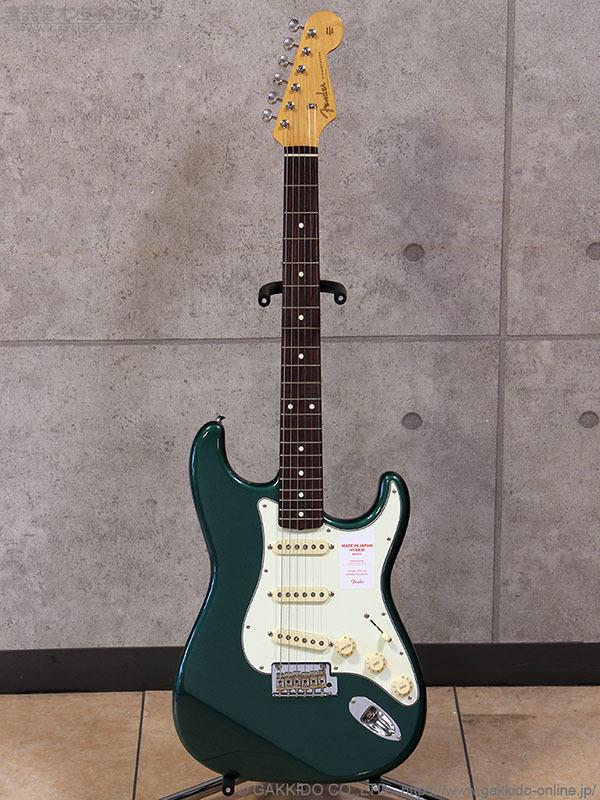 Fender Made in Japan Hybrid '60s Stratocaster [Sherwood Green Metallic]
